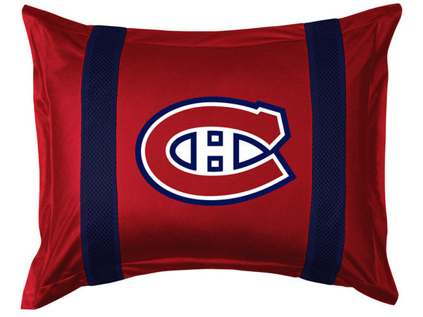 Montreal Canadiens Pillow Sham | My Bed Covers
