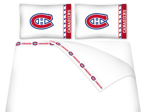 Montreal Canadiens Sheet Set - My Bed Covers - 1