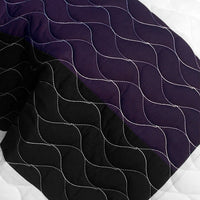 Morning Glory 3PC Vermicelli - Quilted Patchwork Quilt Set (Full/Queen Size) - My Bed Covers - 4