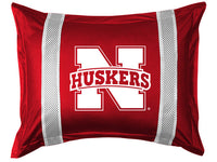Nebraska Cornhuskers Pillow Sham - My Bed Covers