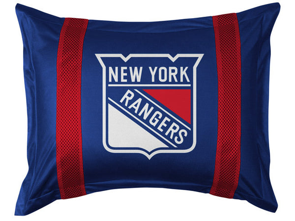 New York Rangers Pillow Sham | My Bed Covers