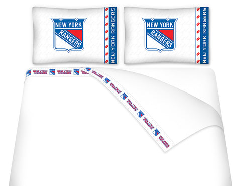 New York Rangers Sheet Set - My Bed Covers
