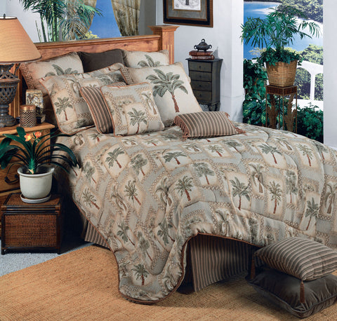 Palm Grove Comforter Set (King Size) - My Bed Covers