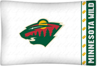 Minnesota Wild Pillowcase | My Bed Covers