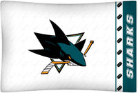 San Jose Sharks Pillowcase | My Bed Covers