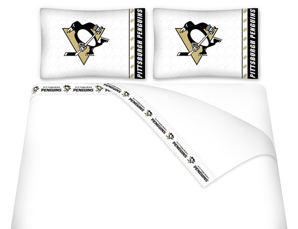 Pittsburgh Penguins Sheet Set | My Bed Covers