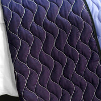 Purple Roadster 3PC Vermicelli - Quilted Patchwork Quilt Set (Full/Queen Size) | My Bed Covers