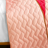 Quiet Time 3PC Vermicelli-Quilted Patchwork Quilt Set (Full/Queen Size) | My Bed Covers