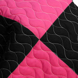 Reminiscent Album 3PC Vermicelli - Quilted Patchwork Quilt Set (Full/Queen Size) | My Bed Covers