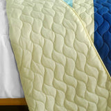 Rising To The Top 3PC Vermicelli-Quilted Patchwork Quilt Set (Full/Queen Size) - My Bed Covers - 3