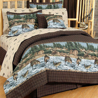 River Fishing Sheet Set (Twin Size) | My Bed Covers