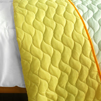 Ruk Sorn Rode 3PC Vermicelli-Quilted Patchwork Quilt Set (Full/Queen Size) | My Bed Covers