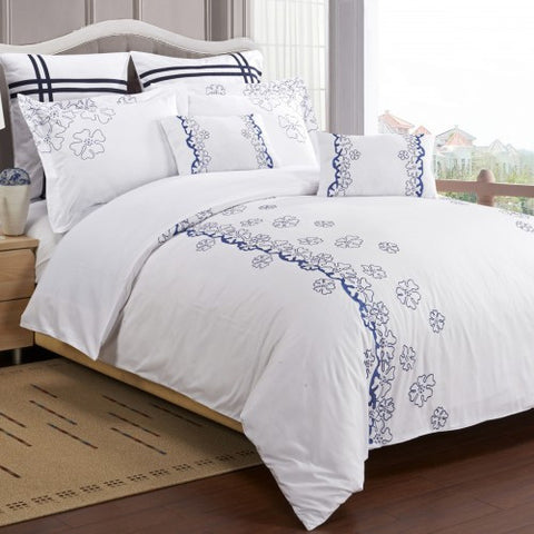 Samantha 7 Piece Duvet Cover Set (Queen Size) - My Bed Covers