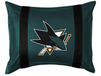 San Jose Sharks Pillow Sham | My Bed Covers
