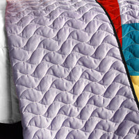 Second Space 3PC Vermicelli - Quilted Patchwork Quilt Set (Full/Queen Size) - My Bed Covers - 3