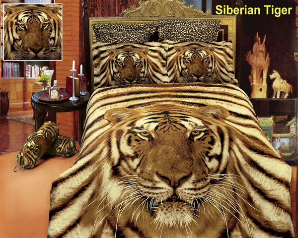 Siberian Tiger 6PC Duvet Cover Set (Full/Queen Size) | My Bed Covers