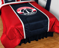 Washington Wizards NBA Sideline Comforter | My Bed Covers