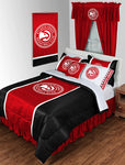 Atlanta Hawks NBA Sideline Comforter | My Bed Covers