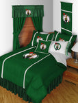 Boston Celtics NBA Sideline Comforter | My Bed Covers