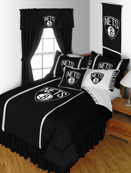 Brooklyn Nets NBA Sideline Comforter | My Bed Covers