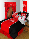 Chicago Bulls NBA Sideline Comforter | My Bed Covers