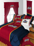 Cleveland Cavaliers NBA Sideline Comforter | My Bed Covers