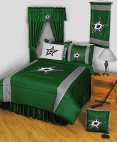 Dallas Stars NHL Sideline Comforter | My Bed Covers