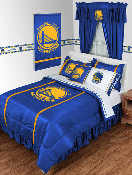 Golden State Warriors NBA Sideline Comforter | My Bed Covers