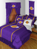 Los Angeles Lakers NBA  Sideline Comforter | My Bed Covers