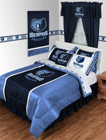 Memphis Grizzlies NBA Sideline Comforter | My Bed Covers