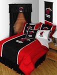 Miami Heat NBA Sideline Comforter | My Bed Covers
