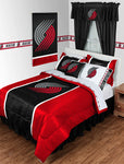 Portland Trail Blazers NBA Sideline Comforter | My Bed Covers