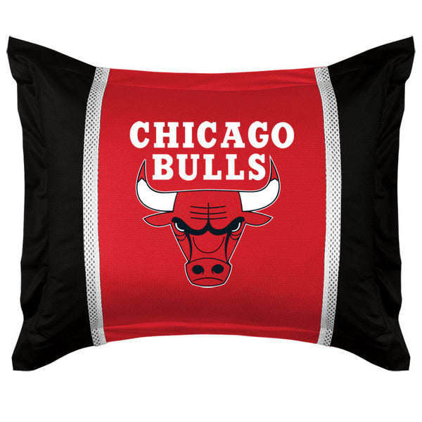 Chicago Bulls Pillow Sham | My Bed Covers