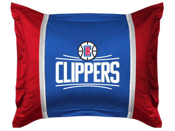 Los Angeles Clippers Pillow Sham | My Bed Covers