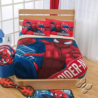 Spider-Man Hero Fleece Blanket With Sherpa | My Bed Covers