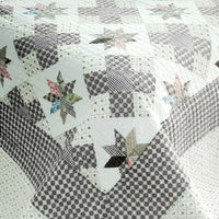 Starry Sky 3PC Cotton Vermicelli-Quilted Printed Quilt Set (Full/Queen Size) - My Bed Covers - 4