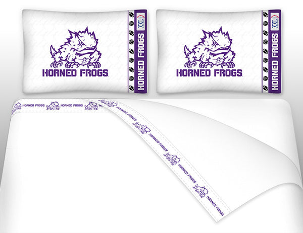 TCU Horned Frogs Sheet Set - My Bed Covers - 1