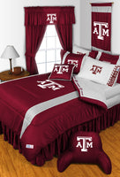 Texas A&M Aggies NCAA Sideline Comforter | My Bed Covers