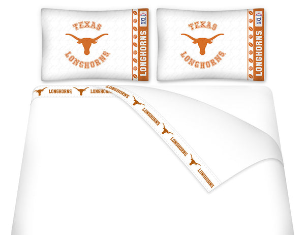 Texas Longhorns Sheet Set - My Bed Covers - 1