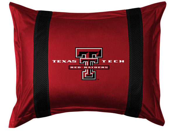 Texas Tech Red Raiders Pillow Sham - My Bed Covers