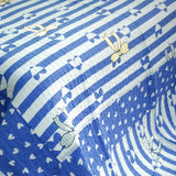The Gift 3PC Cotton Vermicelli-Quilted Printed Quilt Set (Full/Queen Size) - My Bed Covers - 4