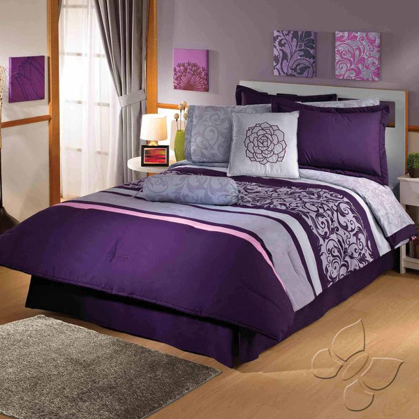 Viena Comforter Set (Queen Size)