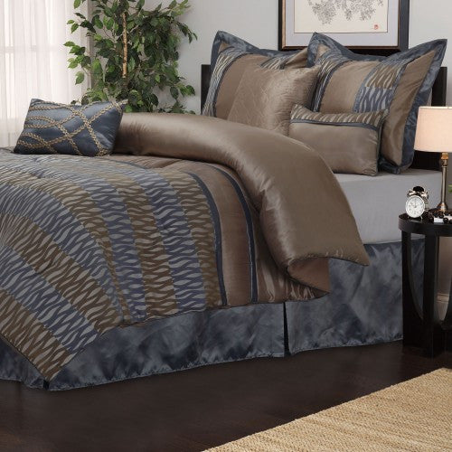 Westerly 7 Piece Bedding Set (Queen Size) | My Bed Covers