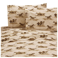 Wild Horses Sheet Set (Twin Size) | My Bed Covers