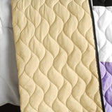 Wind Castle 3PC Vermicelli-Quilted Patchwork Quilt Set (Full/Queen Size) - My Bed Covers - 3
