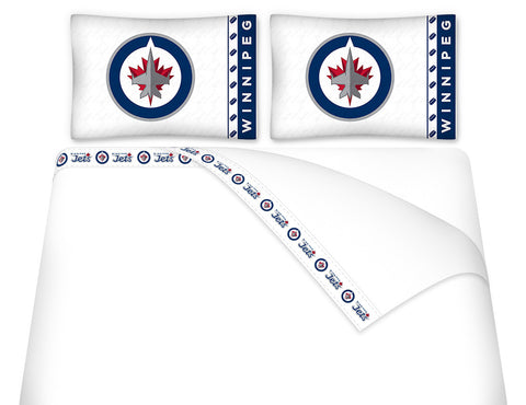 Winnipeg Jets Sheet Set - My Bed Covers - 1