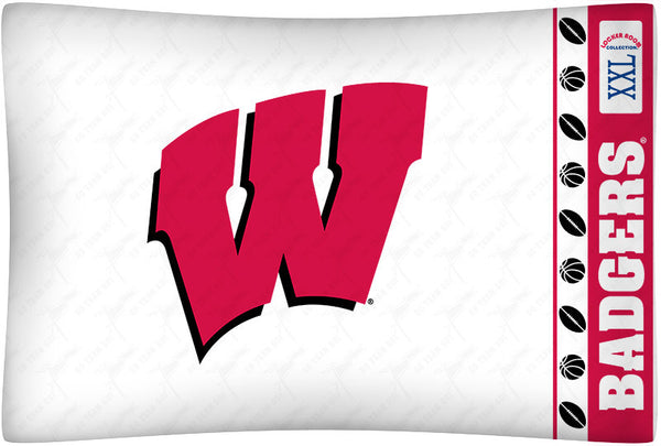 Wisconsin Badgers Pillowcase - My Bed Covers