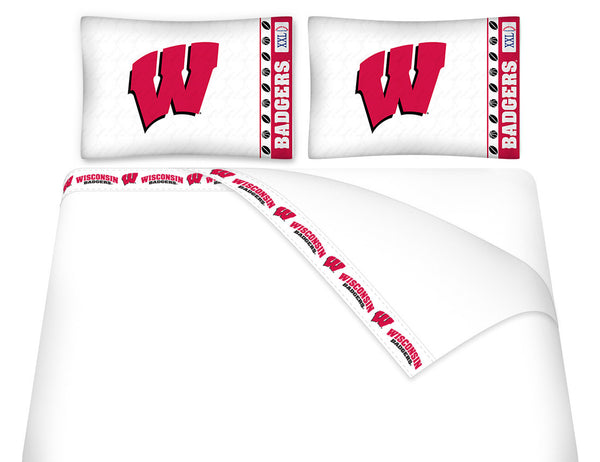 Wisconsin Badgers Sheet Set - My Bed Covers - 1