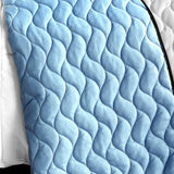 Wonderful Date Day 3PC Vermicelli - Quilted Patchwork Quilt Set (Full/Queen Size) - My Bed Covers - 3