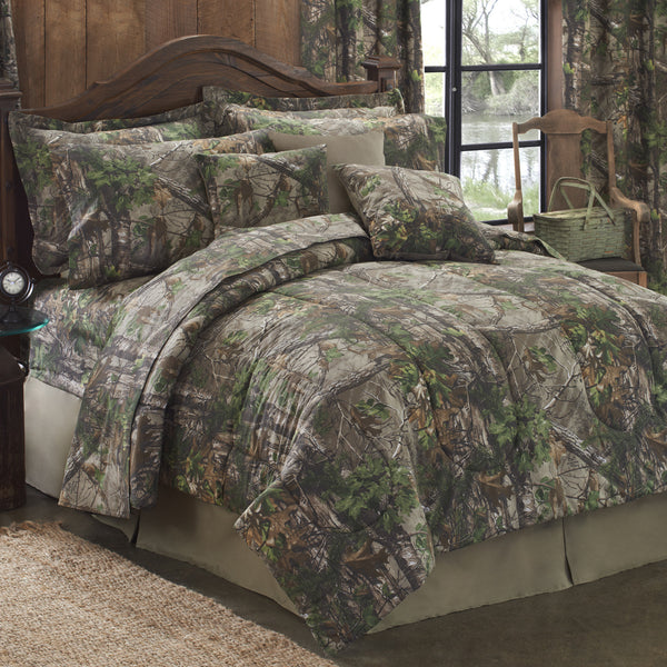 Xtra Green Comforter Set (King Size) | My Bed Covers